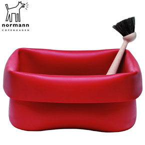 Red-Rubber-Washing-Up-Bowl