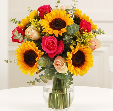 Sunflower Autumnal Bouquet
