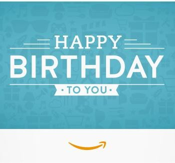 Amazon Gift Card - Same Day Delivery